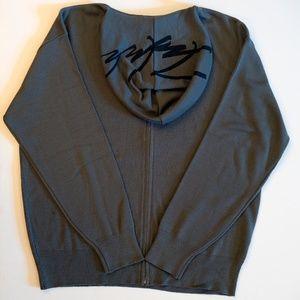 Futura Hooded Zip Up Sweater